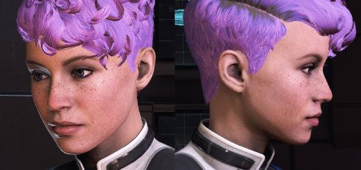 Cora Liam Asari Armor Casual and Hair Replacer